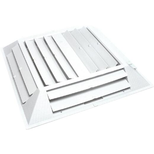 Dial 22-1/2 In. W x 22-1/2 In. H Six-Way Evaporative Cooler Grille