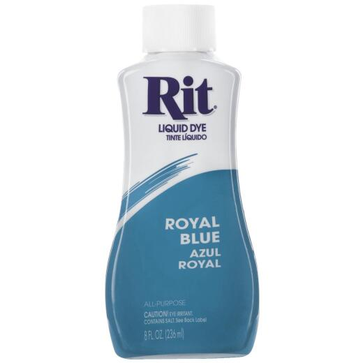 Rit Royal Blue 8 oz Liquid Dye
