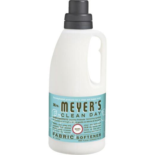 Mrs Meyer's Clean Day 32 Oz. Basil Fabric Softener