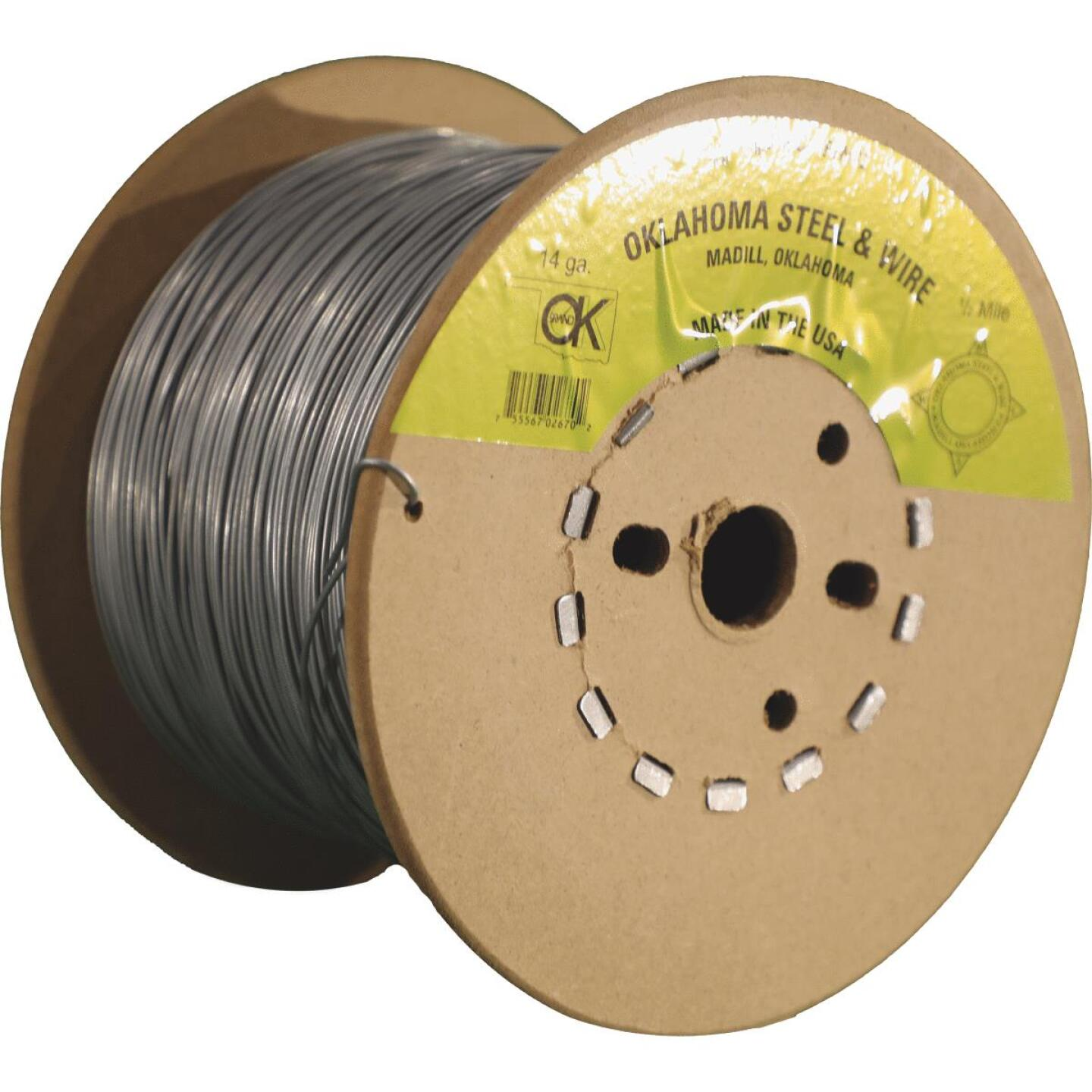 Oklahoma Steel & Wire 1/2-Mile x 17 Ga. Steel Electric Fence Wire Image 2
