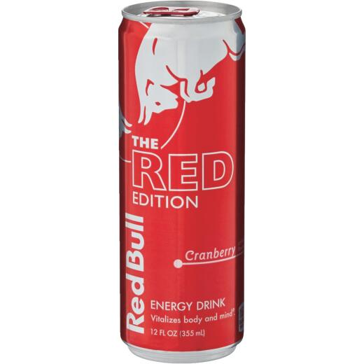 Red Bull 12 Oz. Cranberry Energy Drink